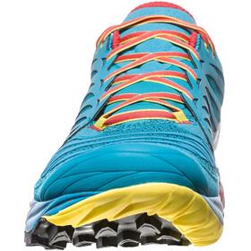 La Sportiva Akasha Shoes Herr tropic blue/cardinal red